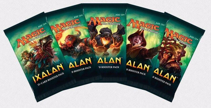 MAGIC MTG IXALAN IXALAN IXALAN 4 BOOSTER BOXES FACTORY SEALED CARD GAME -- e2005a