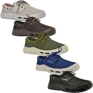 1bb1821e9 Detalles de Ciencia Suave Comodidad calzado ~ ~ ~ 5 Colores The Fin Zapatos  náuticos para hombre ~ RRP £ 60 ~ Todas Las Tallas- ver título original