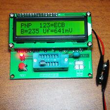 led Transistor Tester Capacitor ESR Inductance Resistor LCR Meter PNP MOSFET