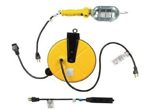 Ace Trouble Light With Retractable Cord Reel Ebay