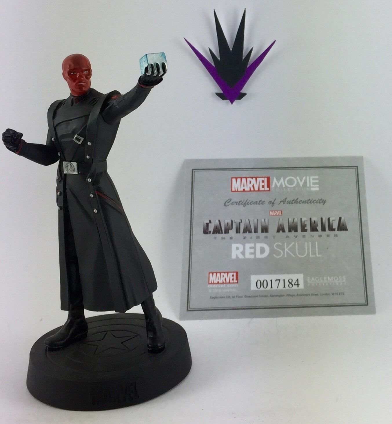 Figurine Marvel Eaglemoss Movie fascicle Collection 08 ROT Skull box & fascicle Movie b7ade8
