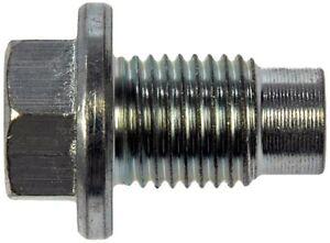 gmc sierra oil drain plug size