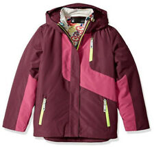 Ski Snowboarding Jacket Spyder Girls Reckon 3-In-1 Jacket Size L 14//16 Kids