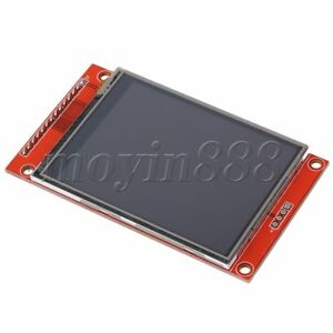 LCD-Touch-Panel-240-x-320-2-8-034-SPI-TFT-Serial-Port-Module-With-PBC-ILI9341-Red