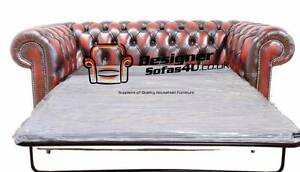 Chesterfield 2 Seater Sofa Bed Antique