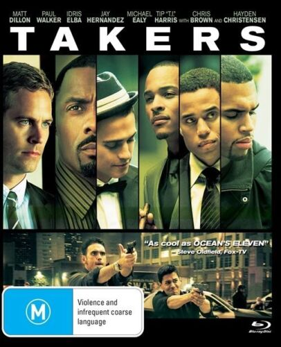 1 of 1 - Takers (Blu-ray, 2017)