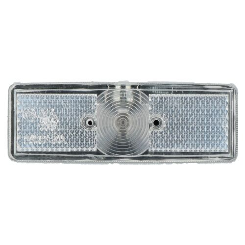 Front Position Marker Light Lamp White Clear for Trailer Caravan Van