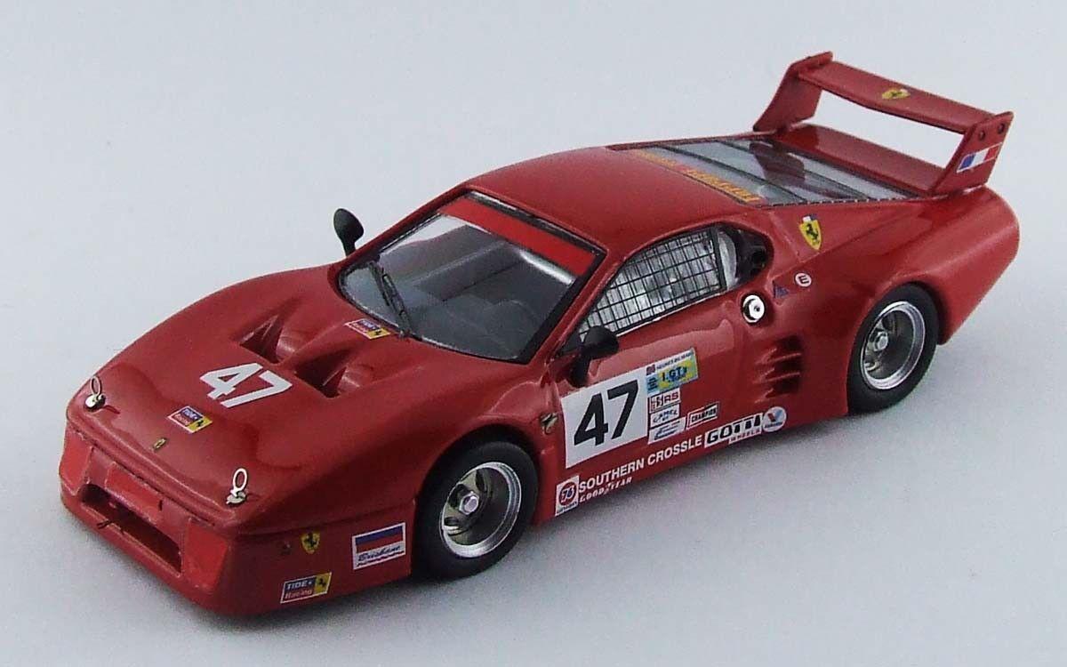 Ferrari 512 Bb Lm Retired Daytona 1982 Davis     De Dryver 1 43 Model 6ce0b2