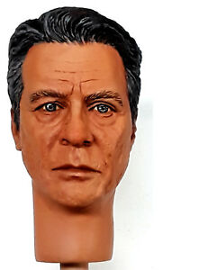 1: 6 Portrait personnalisé d'Edward James Olmos en tant que William Adama du nouveau Bsg