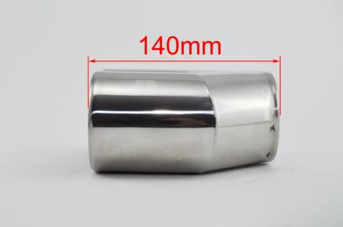 Exhaust tip round Tailpipe trim for SMART /'Brabus style/' for custom made exhaust