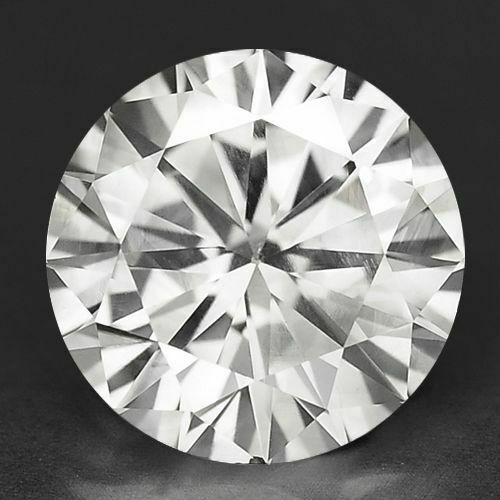 4669 - If - Diamant/brillant/synthese 11,00 Ct. Weiß/river 12,00 Mm Aaa+ Top