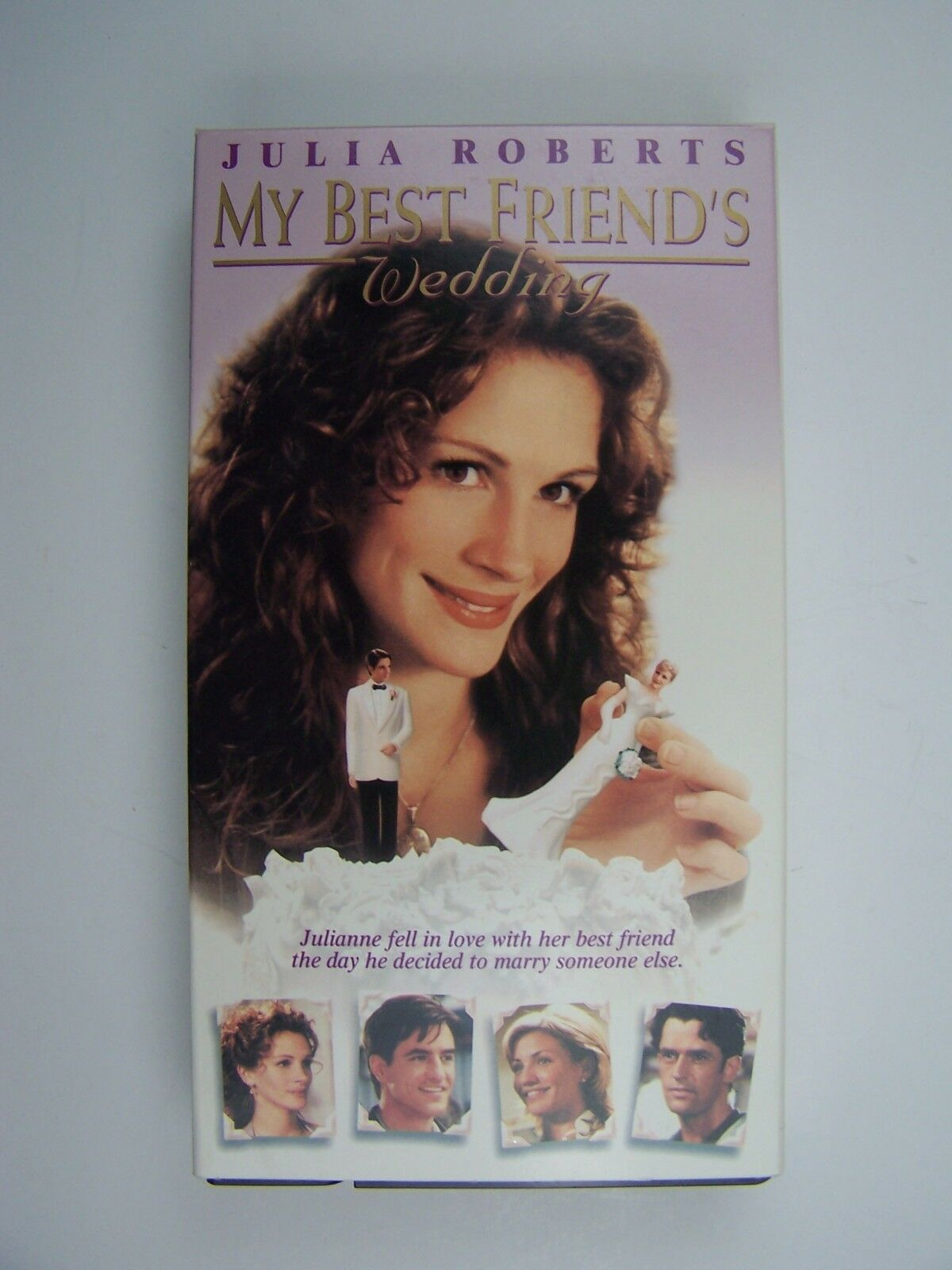 My Best Friend's Wedding VHS Video Tape Julia Roberts 4
