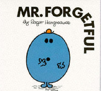 """""""AS NEW"""" Hargreaves, Roger, Mr. Forgetful (Mr. Men Library), Paperback Book"""