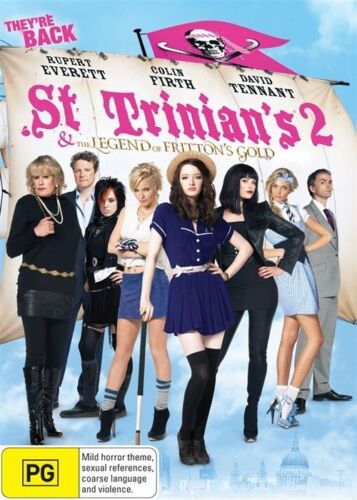 1 of 1 - St. Trinian's 2 - The Legend of Fritton's Gold (DVD, 2010)-Brand New and Sealed