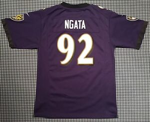 9bfb0c48a Haloti Ngata Baltimore Ravens Nike On-Field Youth Jersey Size Large ...