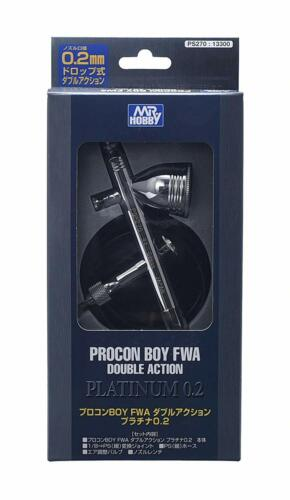 GSI Creos Procon BOY PS 270 WA Platinum 0.2 mm Air Brush