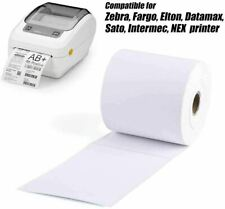 4x6 Jumbo Roll Direct Thermal Shipping Postage Printer Labels 250 Per Roll
