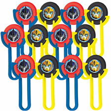 Transformers Disc Shooters Boys Birthday Party Decorations Favor Supplies ~ 12ct