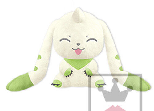 Digimon 10/'/' Sitting Smiling I love Terriermon Banpresto Prize Plush NEW