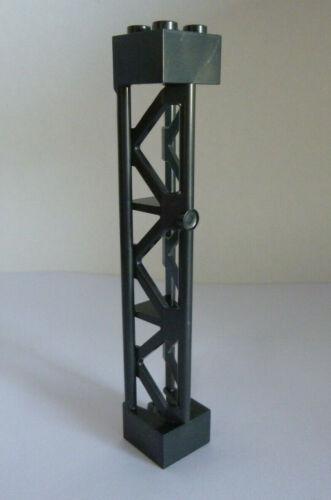 1 x LEGO® 95347 City,Stütze 2x2x10 in dunkelgrau antrazit neu.