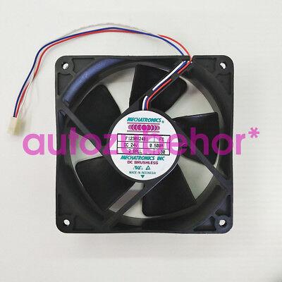 Mechatronics 120*120x38mm Fan 24V DC 130 CFM Bare Leads F1238X24B-FS