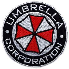 Resident Evil Umbrella Corporation Logo Badge Pin Patch- Iron on