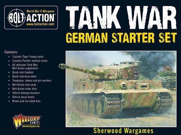 28mm Warlord Games German Tank War Starter Army Bolt Action WWII BNIB