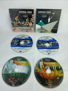 Olympic-Games-2004-Athens-and-2008-Beijing-History-1896-2004-Lot-6-DVDs