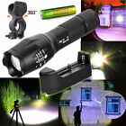 G700 X800 Ultrafire 6000LM Zoom CREE XML T6 LED Flashlight +Battery+Charger+Clip