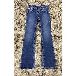 Para Mujer Mediados De Subida Bota Ariat Trabajo Fr Corte Azul Jean Pantalones Resistente Al Fuego 25r Ebay