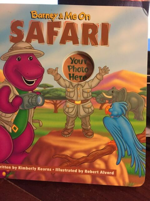 Barney & Me on Safari childrens book, by Kimberly Kearns, Illustrated by Alverd
