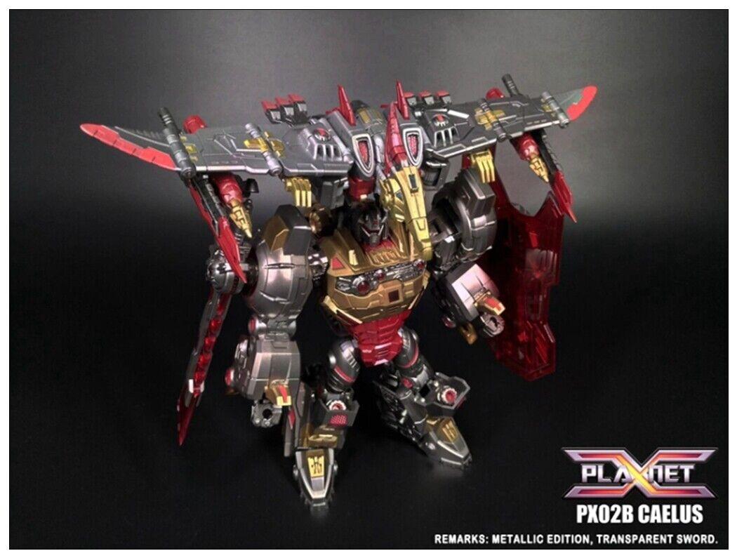 NUOVO PIANETA X Transformers PX02B PX02B Caelus attacco mettuttiico in magazzino