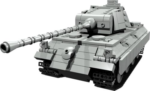 CUSTOM building INSTRUCTION for WW2 PANTHER PANZER to build out of LEGO® parts