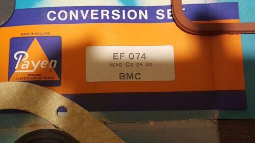 Conversion Jeu Joints D/'étanchéité Morris Minor 1098cc 1965-71 GRATUIT UK P P