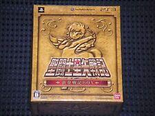 PS3 SAINT SEIYA SENKI Limited GOLDEN CHRONICLE BOX w/Gold Pegasus Cloth JAPAN FS