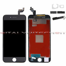 """LCD DISPLAY RETINA IPHONE 6S A1633 / A1688 4,7"""" NERO BLACK TOUCH SCREEN"""