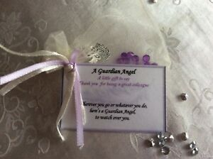 Image Is Loading Keepsake Guardian Angel Birthday Gift For Colleague Customer