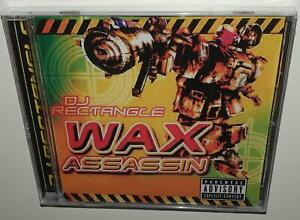 DJ-RECTANGLE-WAX-ASSASSIN-BRAND-NEW-SEALED-ULTRA-RARE-CD-100-HIP-HOP-MIX