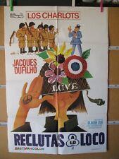 1198    RECLUTAS A LO LOCO. LOS CHARLOTS, JACQUES DUFILHO.