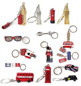10x British London Metal Key Rings Keychains Souvenirs Collectables Uk Seller Ebay