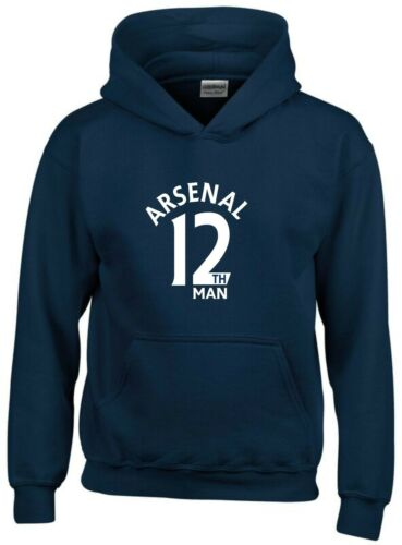 12th Man Arsenal Fan Hoodie Kids