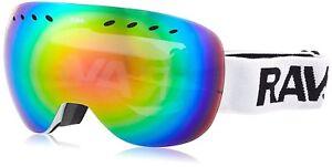 Clothing Ravs Unisex Skibrille Und Snowboardbrille Skiing Goggles Für Allwetter Rahmenlos To Assure Years Of Trouble-Free Service Winter Sports