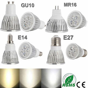 Ultra-Lumineux-a-variation-MR16-GU10-E27-E14-9W-12W-15W-del-Spot