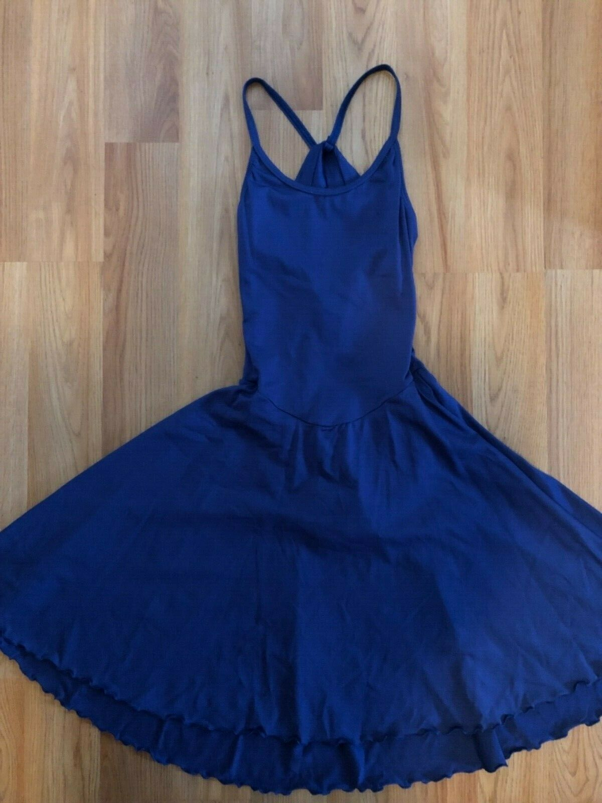 Ice dance dress - ladies adult small - royal bluee