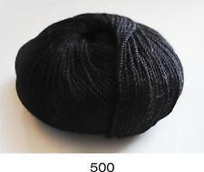 100% Luxurious Baby Alpaca Wool/Yarn Black 500 DK 50g knitting crochet Indiecita