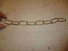 Ancienne Chaine EN lAITON pour  Décoration Création Artistique Brass Chain