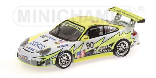 PORSCHE 911 GT3 RSR, VITT ljusING tävlings Le MANS 2004 av Minichamps 400066490