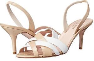 Women-039-s-Shoes-Kate-Spade-SASHA-Slingback-Sandals-Crossed-Straps-Patent-Powder