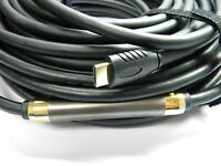 Premium High Quality, 100 Ft Hdmi Cable, Ver 1.4, Gold Tip, 100 Foot, Usa Seller