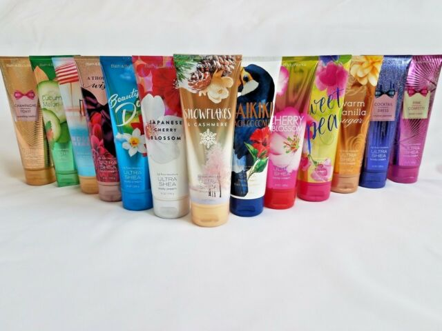 Bath and Body Works Body Cream 8oz ~Triple Moisture or 24 Hour Ultra Shea Lotion